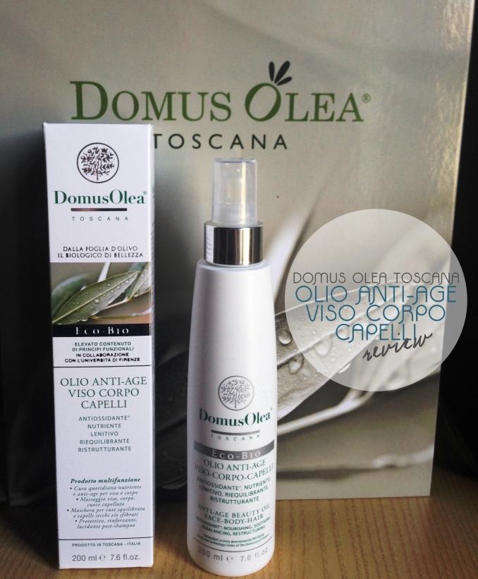 Domus Olea Toscana – Olio Anti-Age Viso, Corpo & Capelli