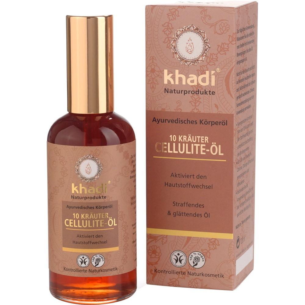 Khadi – Olio Anticellulite alle 10 Erbe
