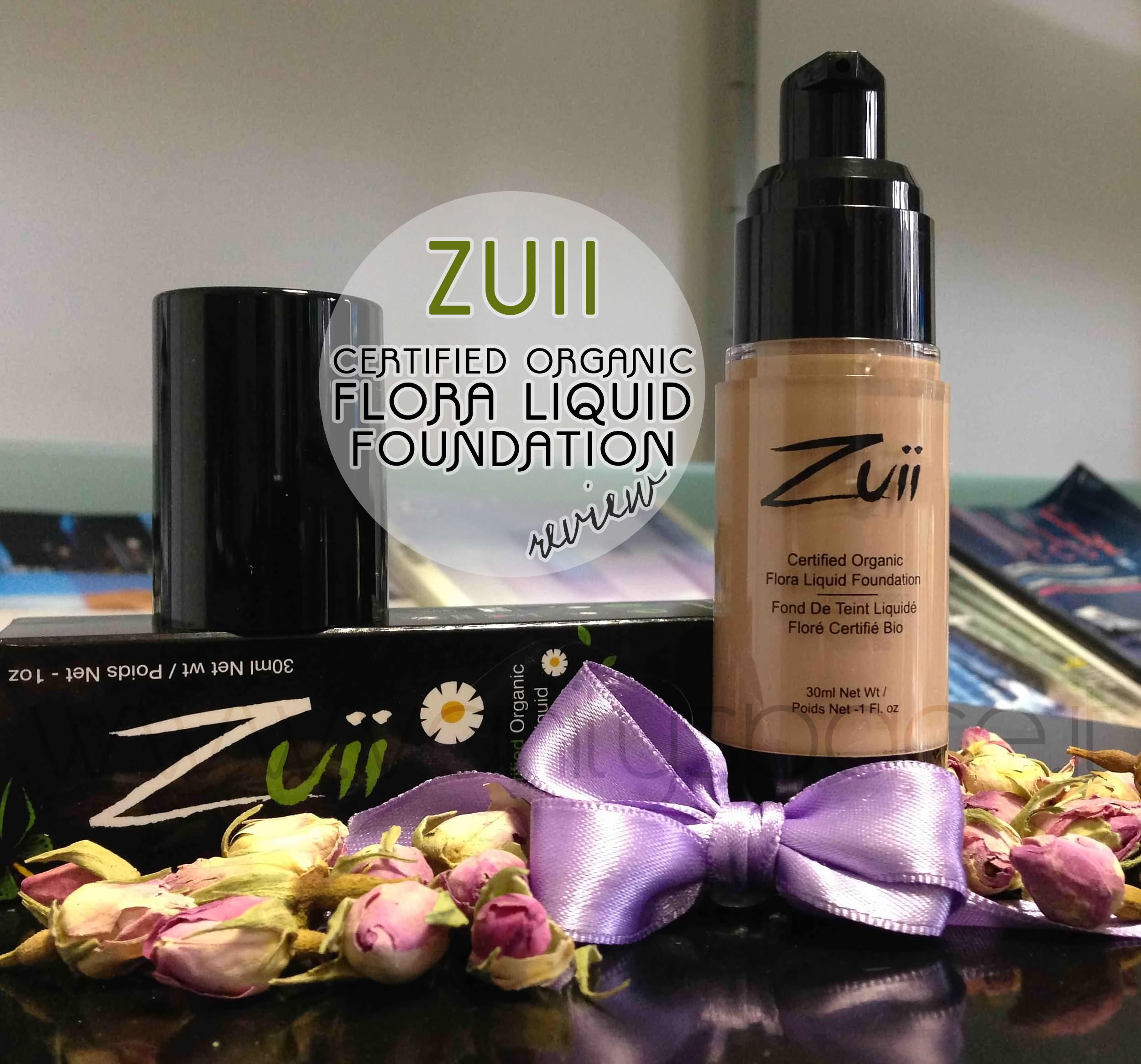 Zuii Organic – Fondotinta Liquido Certificato Bio – Organico