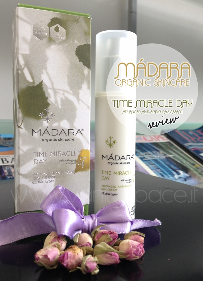 Màdara – Time Miracle Day Cream