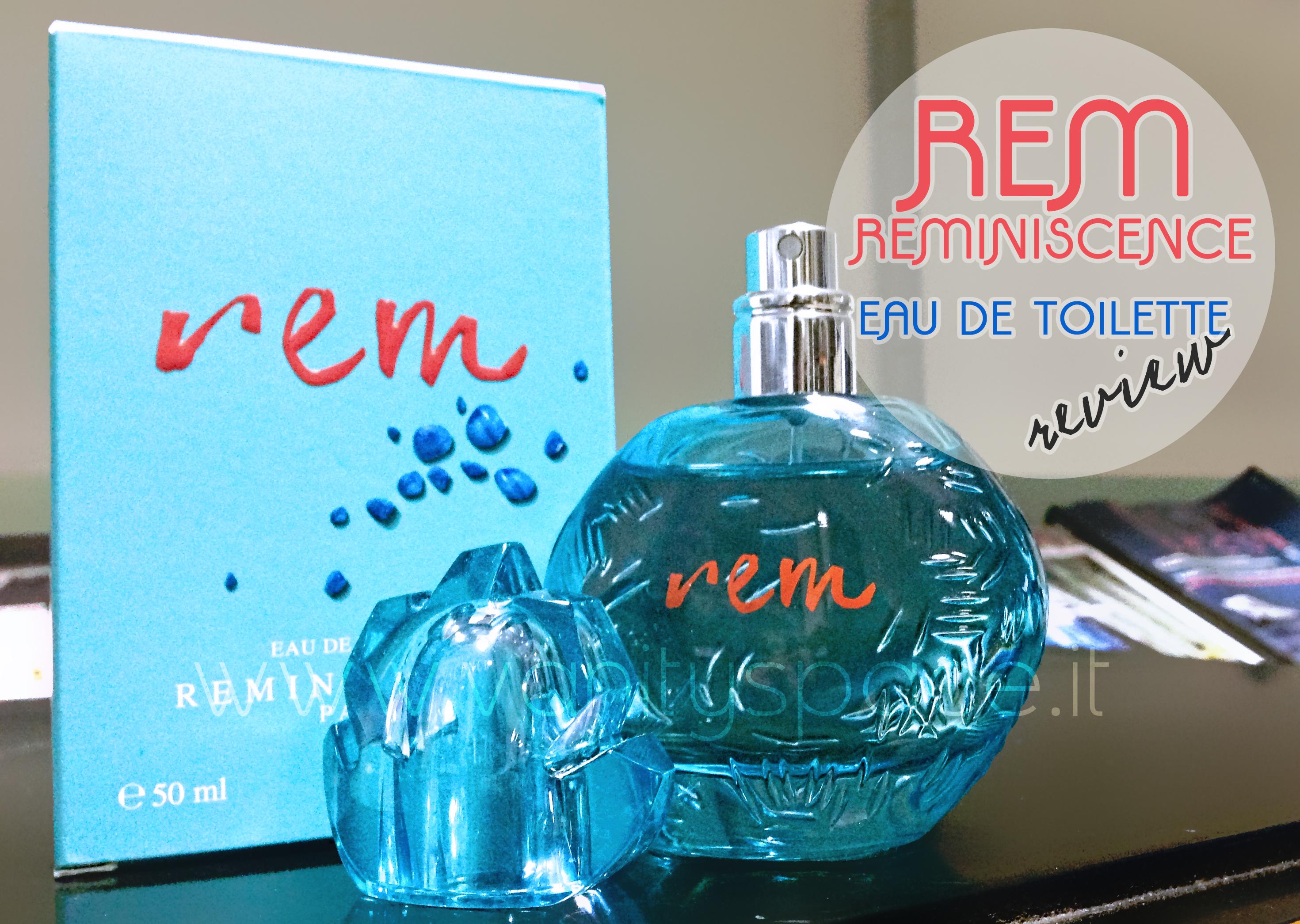 Rem – Tutta l'estate in un profumo: Rem, o il mare in tutta la sua essenza