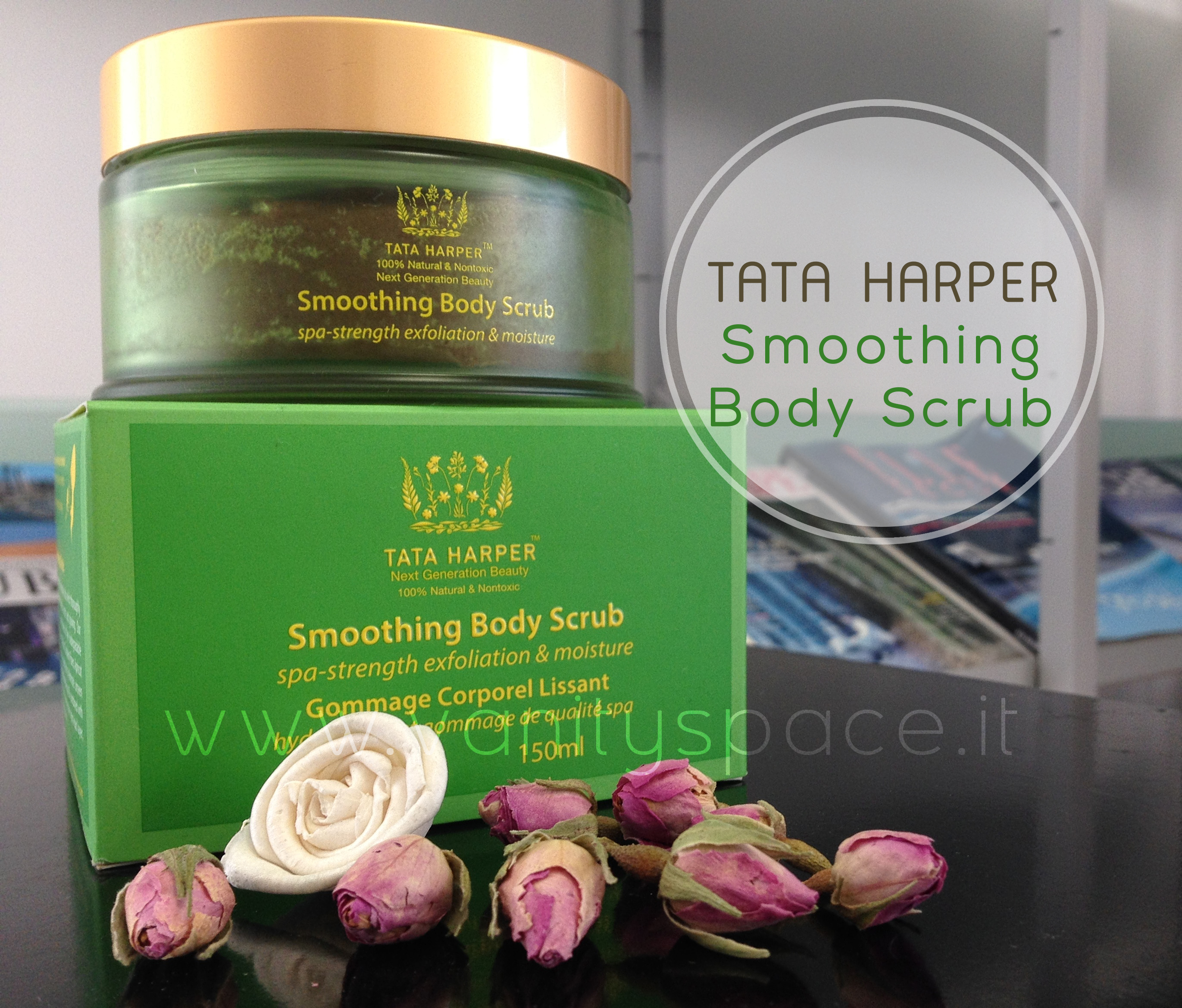 Tata Harper – Smoothing Body Scrub