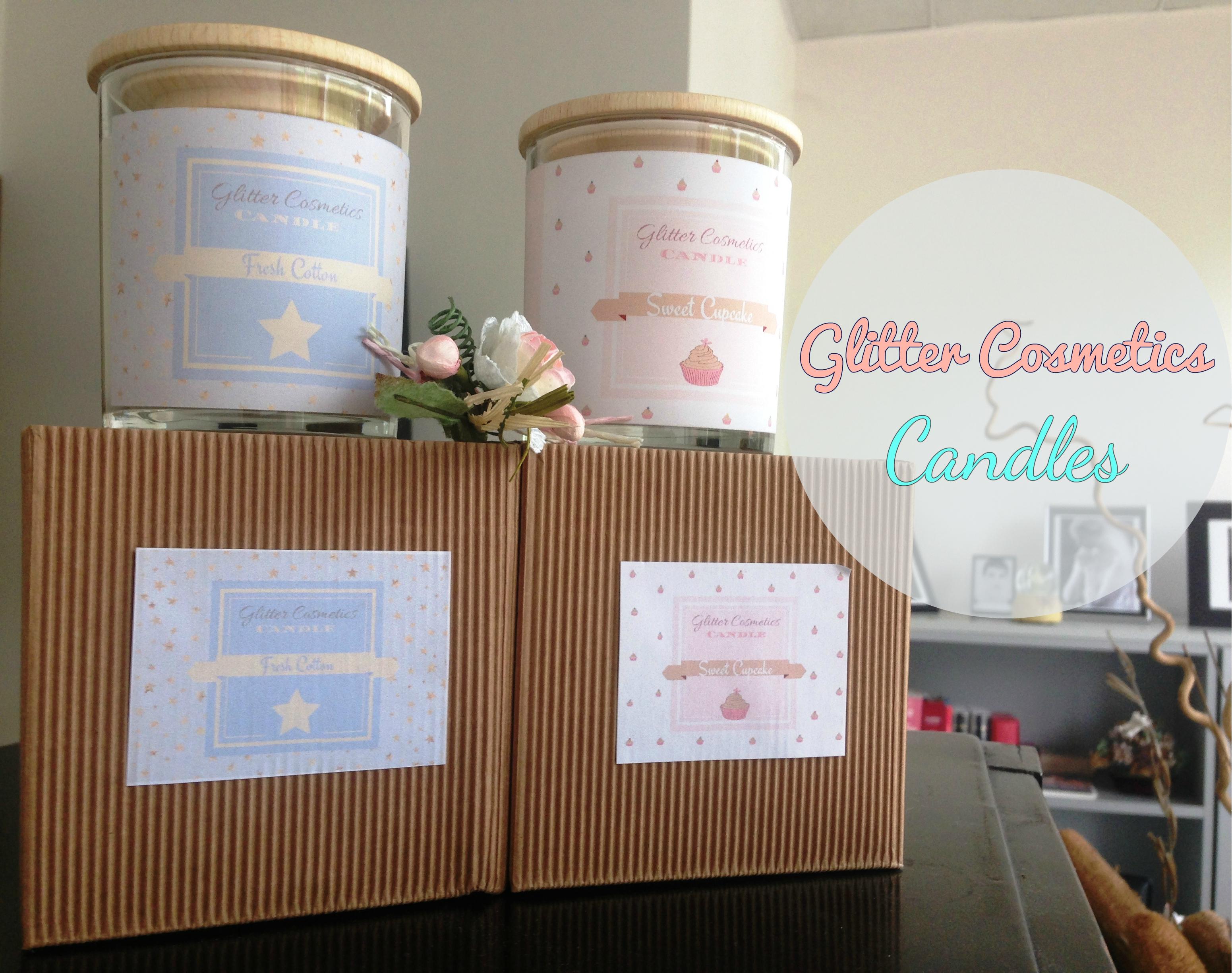 Glitter Cosmetics – New Candles