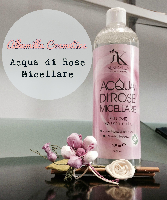 Alkemilla Eco Cosmetici – Acqua di rose micellare
