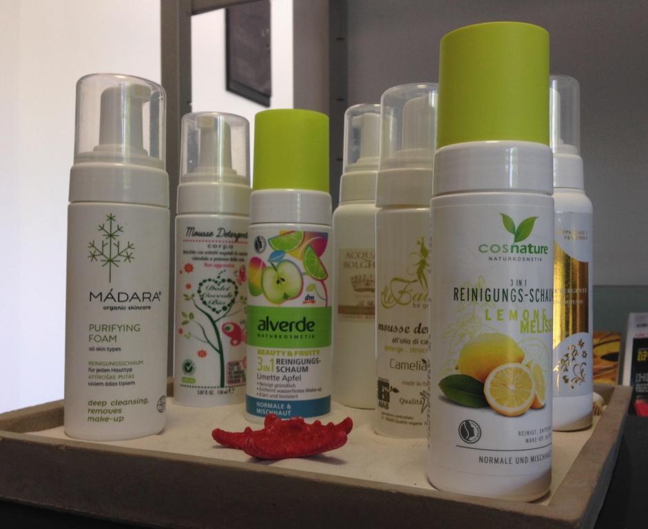Mousse detergenti Bio – Le mie preferite