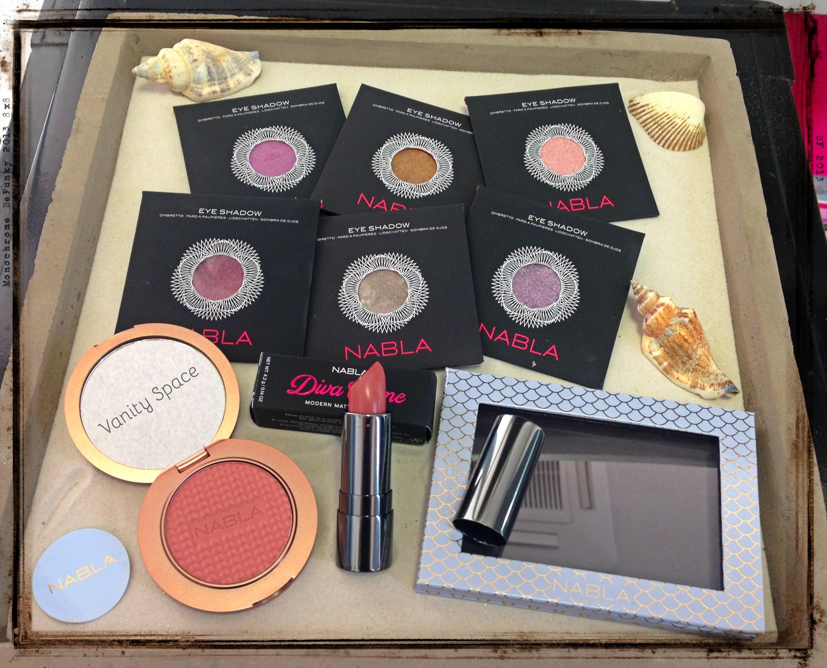 Nabla Cosmetics – Mermaid Collection – Swatches e comparazioni