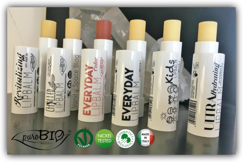 Lip Balms PuroBio Cosmetics – Per labbra a prova di bacio
