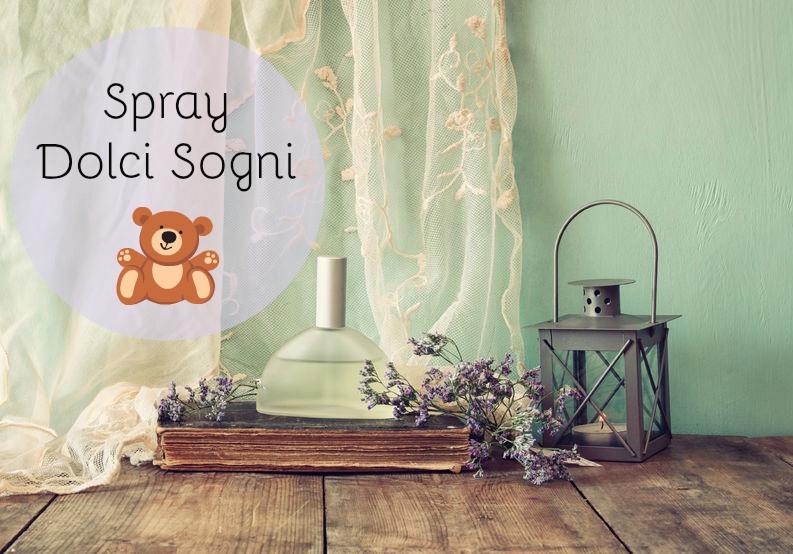 Spray Dolci Sogni – Per favorire un sonno fatato