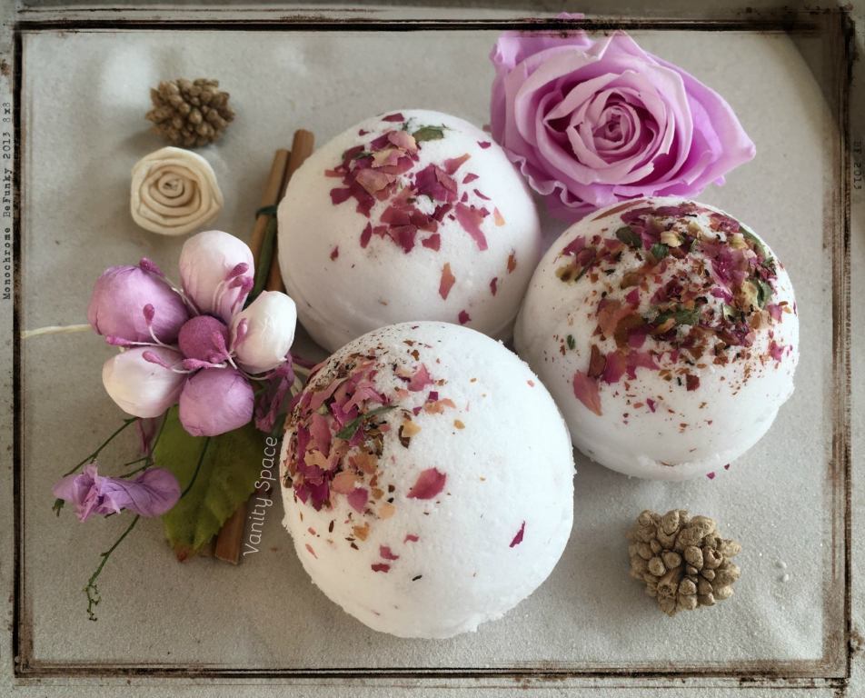 Rose of May - Le mie bombe da bagno homemade - Vanityspace